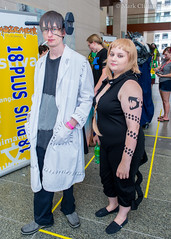 160527-1126 Animazement (WashuOtaku) Tags: cosplay northcarolina raleigh frankenstein medusa animazement rcc 2016 souleater raleighconventioncenter  nikond800   28mmf18g