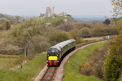40013 Swanage Diesel Gala 6-5-2016 (Darren Harris) Tags: swanage purbeck corfecastle swanagerailway