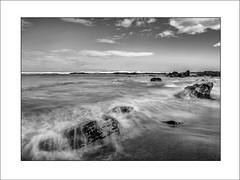 Splash (tmuriel67) Tags: longexposure sea bw seascape blancoynegro nature water monochrome outdoors mar blackwhite agua nikon waves asturias olas atlanticocean waterscapes ndfilters