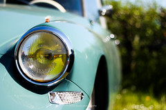 Citron DS headlight (Ide Nauta photography) Tags: auto holland car mobile bokeh citroen ds nederland citron vehicle ide 2016 snoek nauta citro