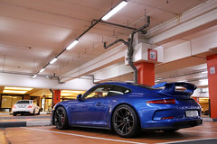 Porsche 991 GT3 (R_Simmerman Photography) Tags: blue marina mall hotel spring dubai boulevard walk garage united parking main uae entrance emirates khalifa arab porsche saudi kuwait abu dhabi qatar burj supercars valet combo 991 gt3 jbr 2016 sportcars dubaicars hypercars carsofdubai