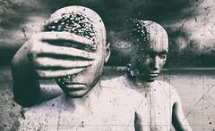 Untitled (Cammino & Vivo Capovolto  Claudio ) Tags: blackandwhite face head dream atmosphere claudio atmosfera amicizia viso untitled biancoenero sogno faccia sfocato testa mistero