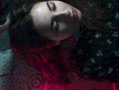 32/365 (ana.sousa129) Tags: pink blue light red portrait woman flower color cute art me beautiful face up self person photography photo foto retrato mulher fotografia nigth levantar
