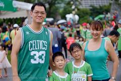 Green is the colour of the day (Stinkee Beek) Tags: erin ethan leonard yewyen coldstoragekidsrun