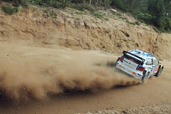 WRC Shakedown Rally de Portugal (LusAFerreira) Tags: cars portugal sports wrc dust paredes shakedown baltar rallydeportugal