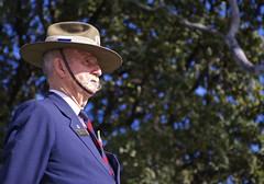 Aussie Veteran (Padmacara) Tags: old hat australia moustache vision perth remembrance veteran kingspark shadowlight moustach d7100 nikkor18140 indigenousveteranscommemorationservice