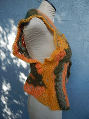 Freeform vest side (atgaiva) Tags: crochet freeform
