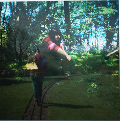 traintrack (Hannah Jade Cleary) Tags: film 35mm lomography doubleexposure dianamini