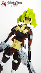 Attack on Titan custom character 33 (shirokeima) Tags: diy lego attack titan on moc mikasa shingeki