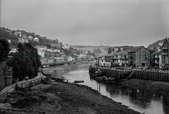 Looe, Cornwall, 1992 (Richard G. Hilsden) Tags: uk england cornwall britain g devon 1992 hilsden richardghilsden