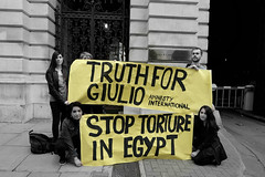 Five months after Giulio Regeni's brutal abduction, torture and murder by Egypt's security services, protesters in London gather outside the British Foreign Office to demand that the British government take action. (alisdare1) Tags: giulioregeni cairo egypt uk foreignandcommonwealthoffice truthforgiulio forceddisappearances injustice torture egyptianpolice egyptiansecurityservices       laveritpergiulio torturare egitto amnestyinternational egyptsolidarity poliziaegiziana disappearances stoptorture  humandignity justiceforgiulio   giustiziapergiulio giustizia dirittiumani  humanrights foreignoffice britishforeignpolicy   demo demonstration fuji fujifilm fujifilmxpro2 xpro2 xf16mm 16mmf14 manifestazione