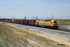 Teco piolino (pipeviii) Tags: contenedores teco 335 ferrovial vossloh euro4000 piolina getafeindustrial serie335 335031
