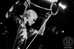 Kasia Zawadzka performing at Torture Garden Italy ([Sushi]) Tags: performance performing bondage rope bdsm latex ropes corde corda qube torturegarden kasiazawadzka torturegardenitaly
