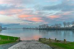 Balclutha (Natalia Volna itravelNZ@ travel app) Tags: sunset newzealand buildings historical otago southland sh1 balclutha bridgecluthariver