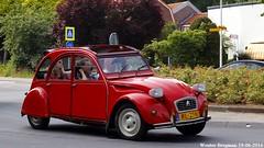 Citron 2CV 1986 (XBXG) Tags: auto old france holland classic netherlands car vintage french automobile nederland citron voiture 2cv frankrijk 1986 paysbas eend geit ancienne 2pk overveen 2cv6 citron2cv franaise deuche deudeuche rl27nj