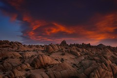 Surreal Sunrise Surprise (Eric Gail: AdventuresInFineArtPhotography) Tags: ericgail 21studios canon canon70d 70d explore interesting interestingness photoshop lightroom nik software landscape nature infocus adjust california photo photographer ca cs6 topazlabs picture alabamahills vortexcloud
