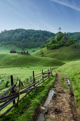 The road (Semaca85) Tags: landscape romania field hills trees nature eco green sky beautiful