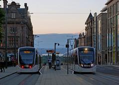St Andrew Square (Taysider64) Tags: edinburgh trams city urban summer evening twilight standrewsquare