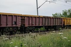 503502 Kingsthorpe 110616 (Dan86401) Tags: 503502 503 mla bogie open ballastbox wagon freight greenbrier ews db dbcargo redsnapper fishkind engineers departmental infrastructure wilsonscrossing kingsthorpe northampton wcml 6y16