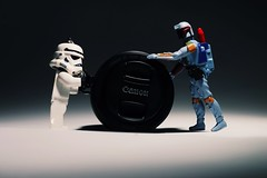 To me, To you (terryunderhill75) Tags: lighting light canon eos 50mm starwars lego flash torch stormtrooper bobafett 18200 lense 70d leefilters
