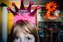 Birthday Queen. (Sebastian | rose.fm) Tags: birthday crown girl celebration children