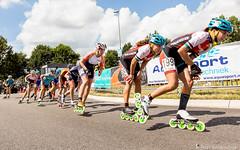 2016-07-30 EK Skeeleren Steenwijk (99a) (Peter Donderwinkel) Tags: ekskeeleren2016steenwijk inlineskating seniorladies junioraladies ek klimvansteenwijk schaatsennl kpn skeeleren outdoor sport event speed race canon