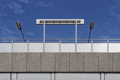Backside (R. Engelsman) Tags: rijnhaven metrostation metro station ret lantern rotterdam nederland netherlands holland 010 outdoor abstract architecture