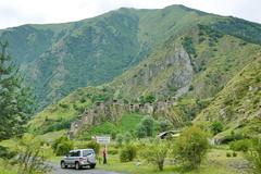 shatili fortress village (eikzilla) Tags: georgia europe georgien  pajero shatili fortress vilage