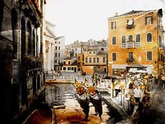 Venecia, Venice 007 (www.ignaciolinares.com) Tags: venecia venice venezia gondola canales sanmarcos feniche campanile ilduomo eldoge vaporetto veneto italia