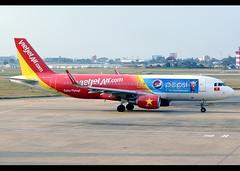 Airbus   A320-214   VietJet Air   Pepsi Scheme   VN-A686   Ho Chi Minh City   SGN   VVTS (Christian Junker   Photography) Tags: nikon nikkor d800 d800e dslr 2470mm plane aircraft airbus a320214 a320200 a320 a32a vietjetair vj vjc vietjet vna686 narrowbody lcc lowcostcarrier pepsi specialschemes specialcolours speciallivery departure taxiing 25l sharklets airline airport aviation planespotting 5822 tansonnhatairport tansonnhat vvts sgn saigoninternationalairport hochiminhcityinternationalairport tnsnnhtinternationalairport hochiminhcity saigon hcmc vietnam asia christianjunker airside terminal gate ramp executiveapricotlounge flickraward zensational flickrtravelaward worldtrekker superflickers