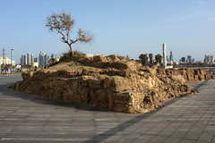 Remains of Tel Kudadi, a 8th cent. BCE fortress, Tel Aviv port (YamTikhoni) Tags: israel fortress aviv tell telavivyafo telaviv archaeology archaeological assyrian