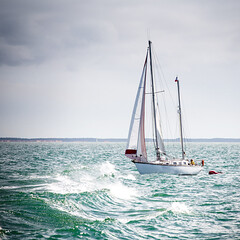 Sailing in La Rochelle (Zeeyolq Photography) Tags: bateaux boats france freedom larochelle naviguer navires oceans outdoor sail sailboat sailing sailor sea voiles voiliers water waves wind