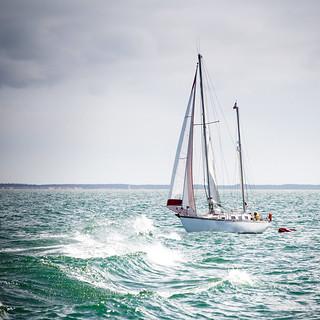 Sailing in La Rochelle