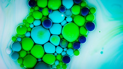 Better Photography Through Chemistry - 26 (MorboKat) Tags: macro detail chemical chemistry reaction planet abstract bubble liquidart liquidsculpture liquid teal green white blue lime bright bubbles colour color colours colors colourful colorful intense roundball texture trippy swirl betterphotographythroughchemistry round ball