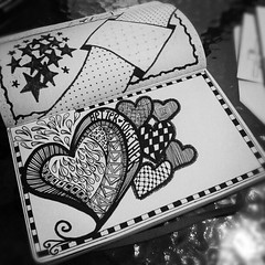 Zentangle 21 (jennyfercervantes-ng) Tags: zenspirationzentangle zendoodle zentangleartzentanglefigures art illustration artistsketch pen artsy masterpieceartoftheday colored inkdrawingmoleskine sharpiepens sharpiesunipin coloringpage coloringbookphcoloringpageforadults coloringpagephziabyjenny