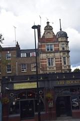 DSC_4162 London Bus Route #205 The Rocket English Pub Rebuilt 1899 (photographer695) Tags: london bus route 205 the rocket english pub rebuilt 1899