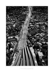 London Bridge Station Approach (RichardK2010) Tags: gulp itsalongwaydown shard thatlondon zuiko17mm olympuspenf