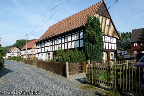 Grossschönau das Umgebindedorf in der Oberlausitz