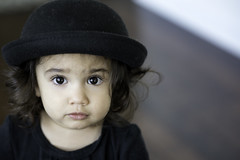 The Bowler Hat (9655TS) Tags: toddler nikon d750 85mm eyes baby portrait bowlerhat