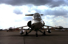 K1023E 31Jul76 TF-104G 263 IAT (fergusabraham) Tags: 263 f104 iat lockheed starfighter greenhamcommon