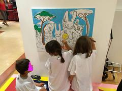 ateul2 (mc1984) Tags: atelier kids painting mc1984 canvas posca acrylique brushes