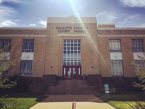 Gillespie County Court House. Fredericksburg, Texas #mainstreet #art #love #style #fashion #model #architecture #design #instagood #instadaily #interiordesign #vscocam #sky  #wimwenders #americana #photo #photography #historic #realestate  #country #cloud