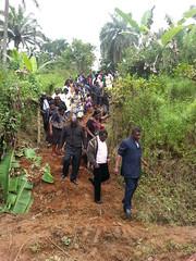 Beerdigung in Bana
