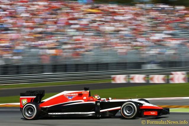 JULES BIANCHI Marussia MR03 Ferrari