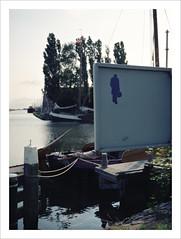 itchy feet (macfred64) Tags: 120 film analog mediumformat harbor 645 harbour thenetherlands wanderlust 6x45 workum fujiga645 kodakportra400 homesickness provincefriesland fujinon60mmf4 epsonv600