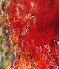 "onbekend land, acryl op doek, 120 x 140 • <a style=""font-size:0.8em;"" href=""http://www.flickr.com/photos/42196492@N03/15390415463/"" target=""_blank"">View on Flickr</a>"