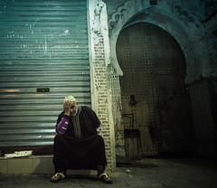 OLD INSOMNIAC (Maythem Ridha) Tags: old travel man arabic morocco tangier immigrant migrant geolocation ina5 geocity exif:make=sony geocountry exif:focallength=18mm middleeaststreet camera:make=sony geostate exif:aperture=35 exif:lens=e1855mmf3556oss camera:model=nex7 exif:model=nex7 maythemridha exif:isospeed=1600