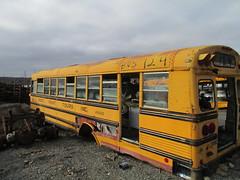 West Point Tours #124 (6) (ThoseGuys119) Tags: old rotting junk storage historic rusting schoolbus 1980s scrap rare newburghny thomasbuilt vailsgateny fordb700 highlandfallsny westpointtoursinc nochassis
