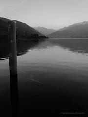 Zell am See sterreich (-M1ke-) Tags: bw mountain lake mono see oostenrijk sterreich meer zwartwit bergen zw loveblackandwhite