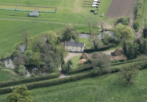 Three Ash Farm - moated farm house